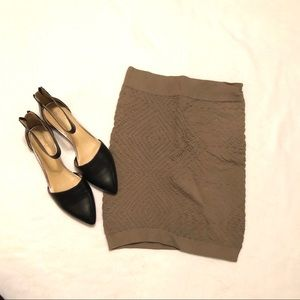 BCBG Olive mini skirt